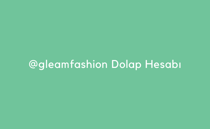 Gleamfashion Dolap